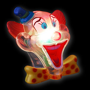 042-537 LED Clown Brosche